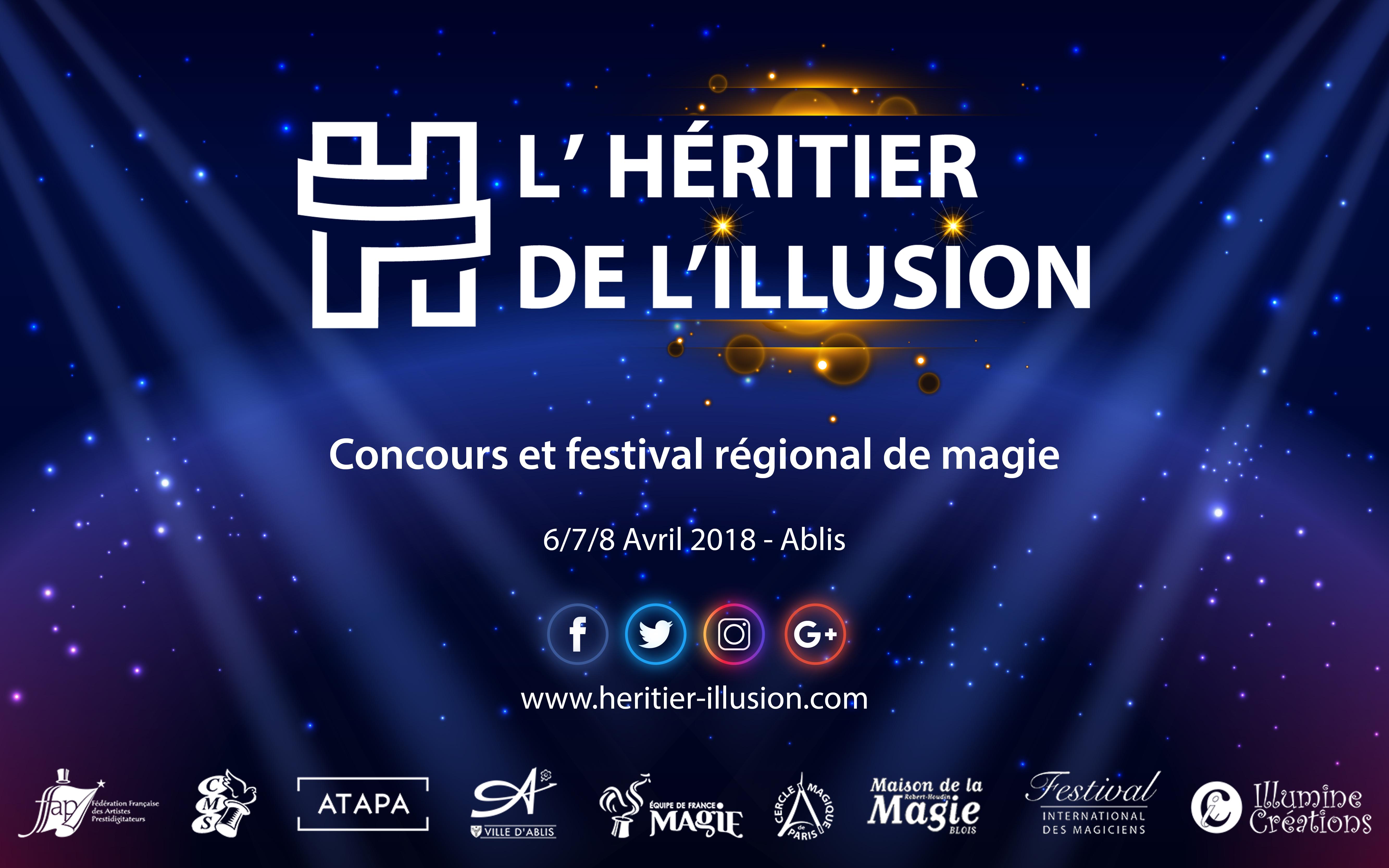 inscriptions au concours de magie régional de paris