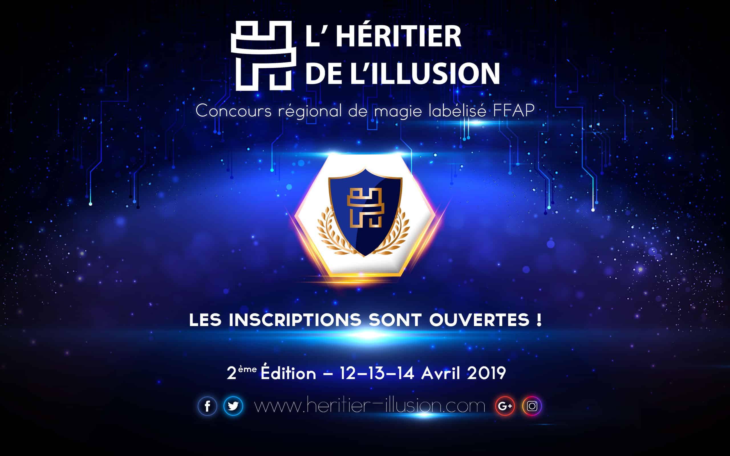 Inscriptions concours de magie Paris 2019 Ablis