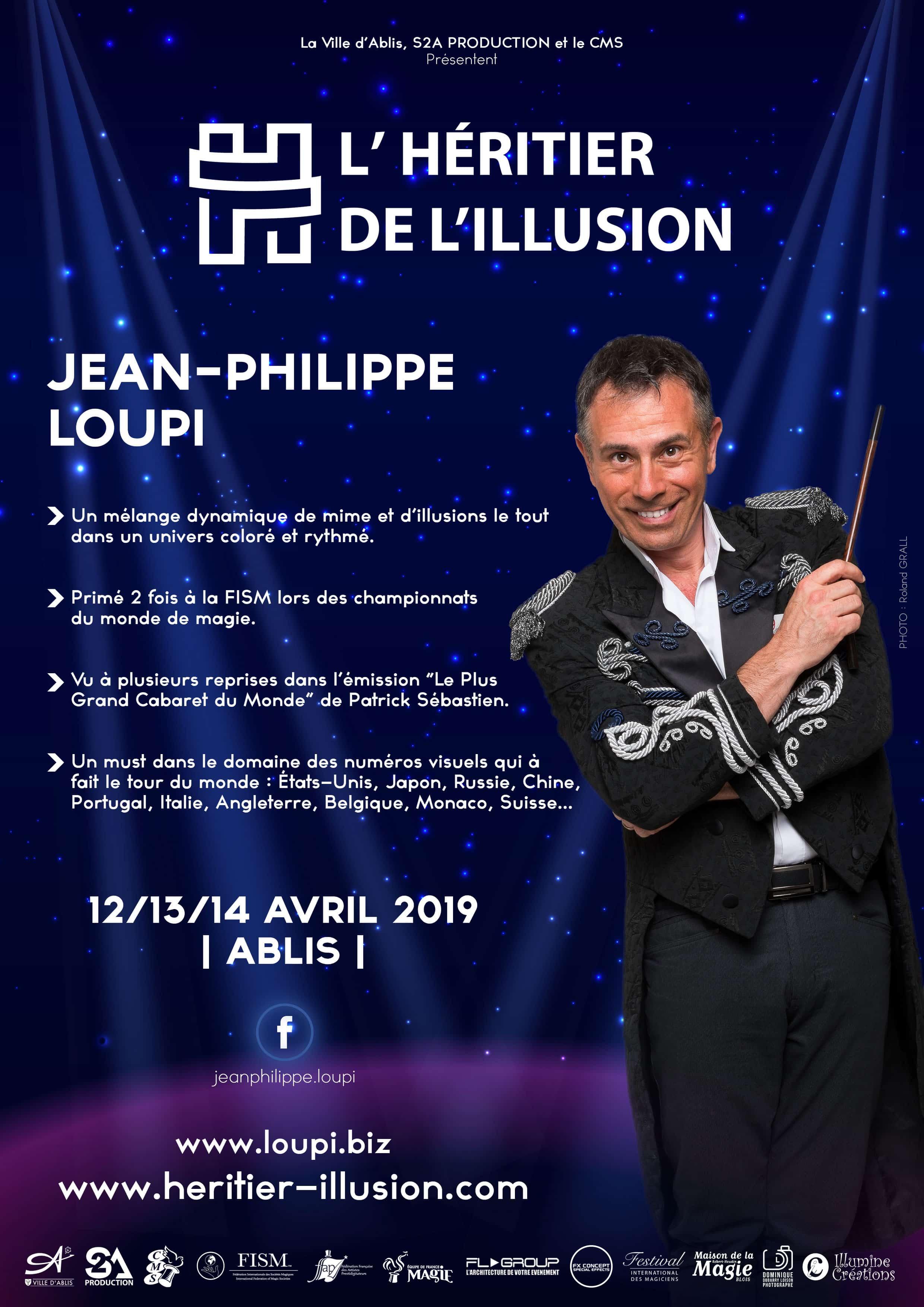 Jean-Philippe Loupi magicien - Photo © : Roland Grall