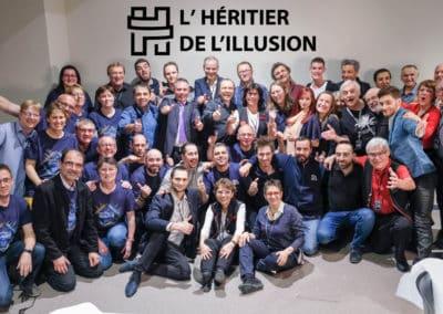 L'équipe du festival de l'Héritier de l'Illusion 2019