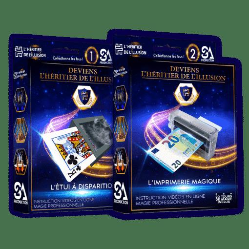 Pack 2 coffrets de magie N°1 + 2