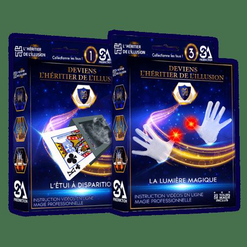 Pack 2 coffrets de magie N°1 + 3