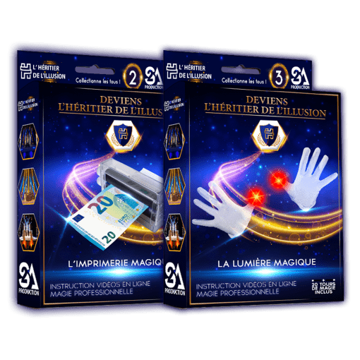 Pack 2 coffrets de magie N°2 + 3