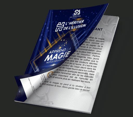 boutique Livret explication magic box