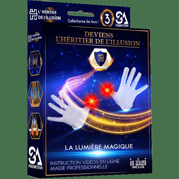Boite De Magie Deviens L Heritier De L Illusion Nº3 La Lumiere Magique L Heritier De L Illusion