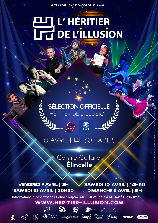 affiche concours 2021 Ablis Rambouillet