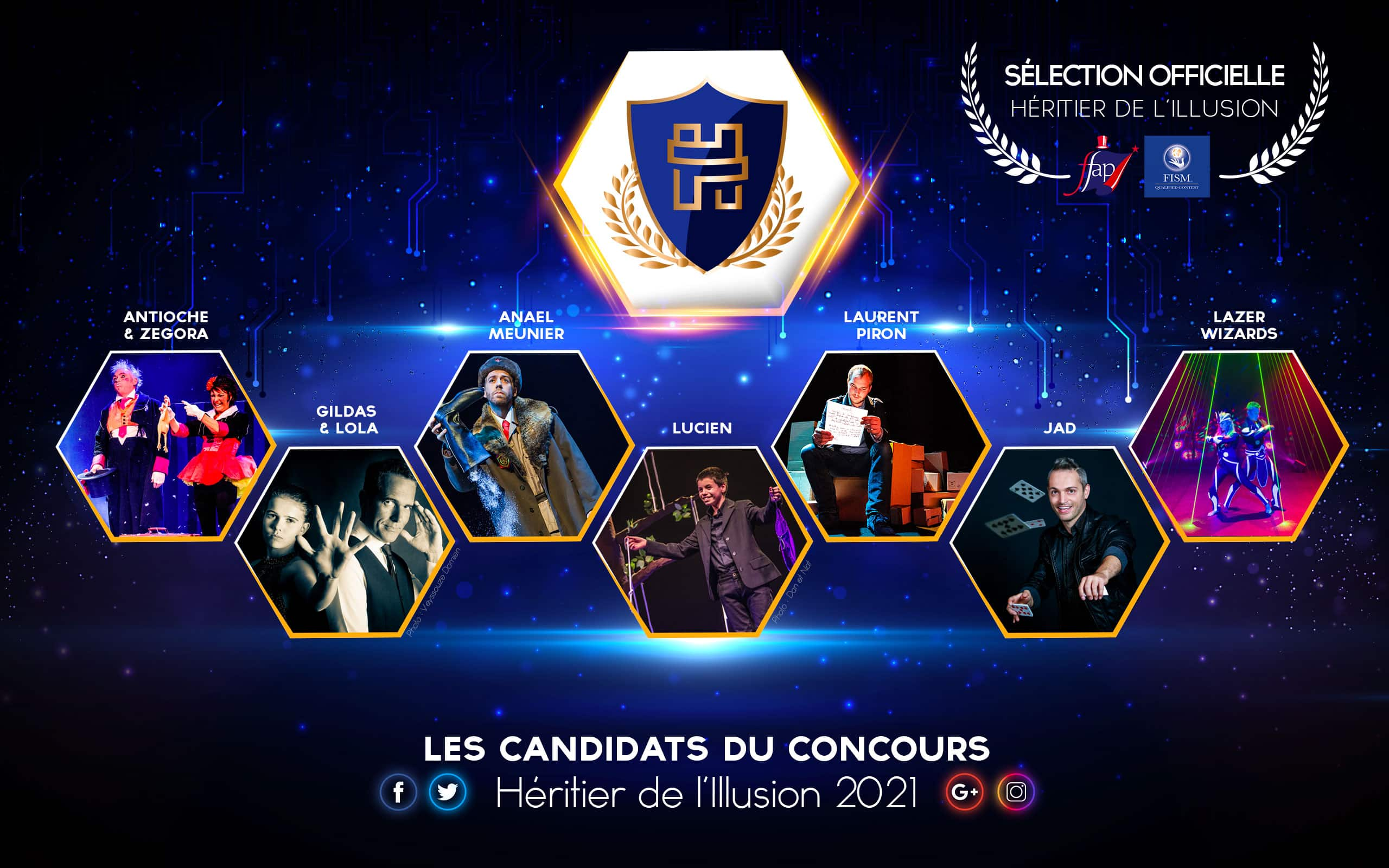 candidats selection officielle 2021 International contest