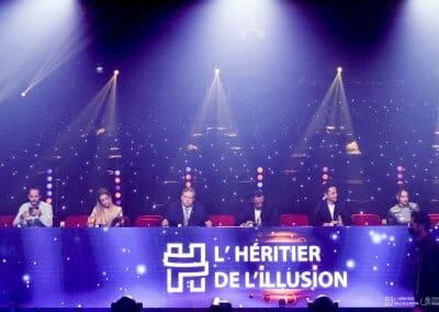 Jury de l'Héritier de l'Illusion 2021 concours de magie international